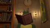 Dragon Reading a Book.